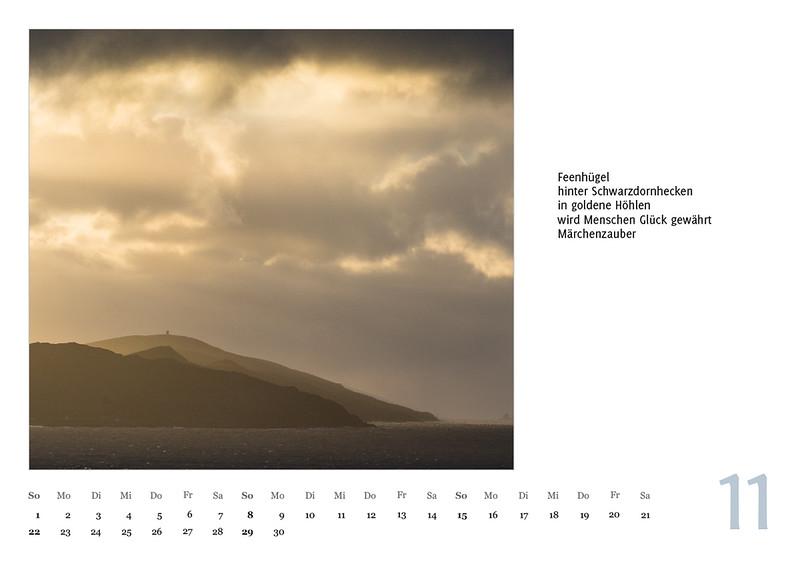 """Foto-Lyrik-Kalender 2020 """"An der Küste von Grünland"""" November"""