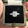 2.03ct Emerald Cut Diamond Ring, GIA K IF 0