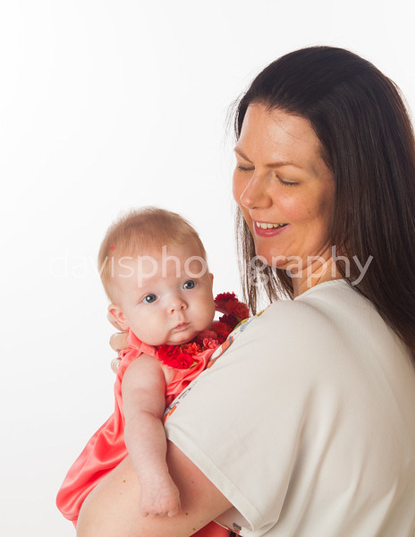 Baby Phoebe's 10 week old portrait