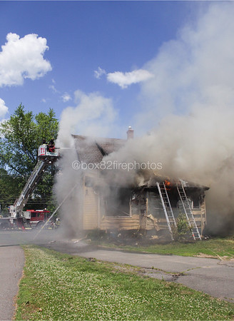 Structure Fire - 61 Park Ave, Windsor, CT - 6/14/20