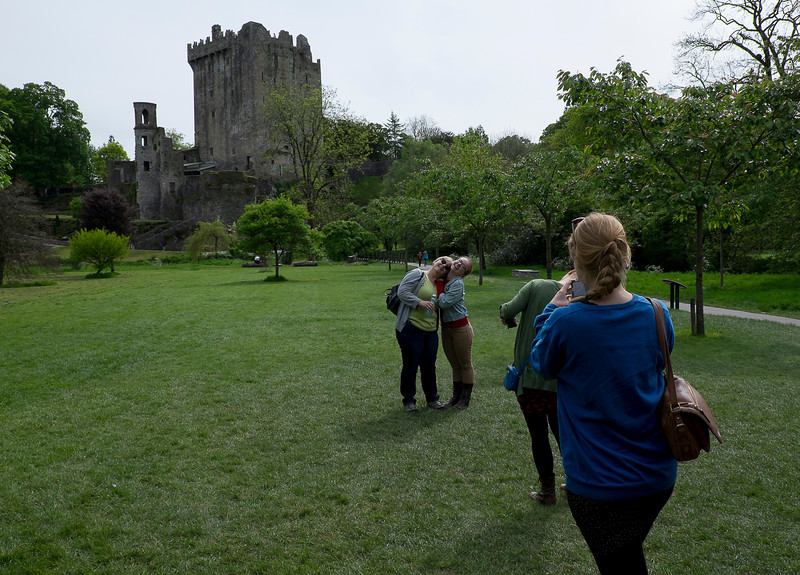 Approaching Blarney Castle.