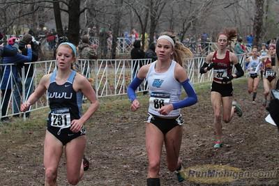 Women at 2.5K - 2014 NCAA D2 XC Championship