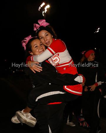 Cheerleaders JV Yorktown 10/28/13
