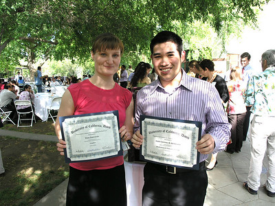 Center Interns Receive College Citations