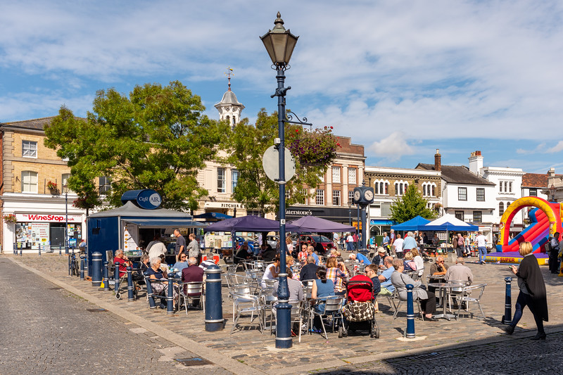 Market Place, Hitchin, Hertfordshire