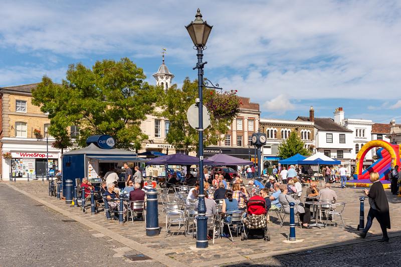 Market Place, Hitchin, Hertfordshire