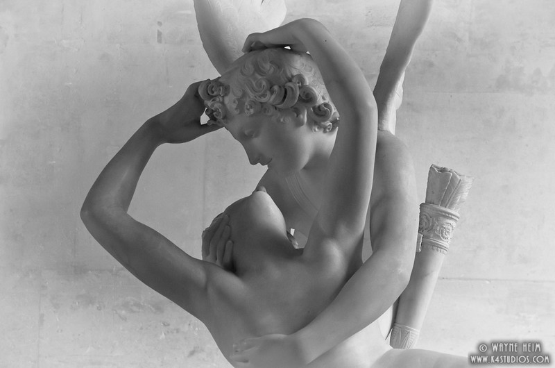 Cupid's Kiss    Photography by Wayne Heim