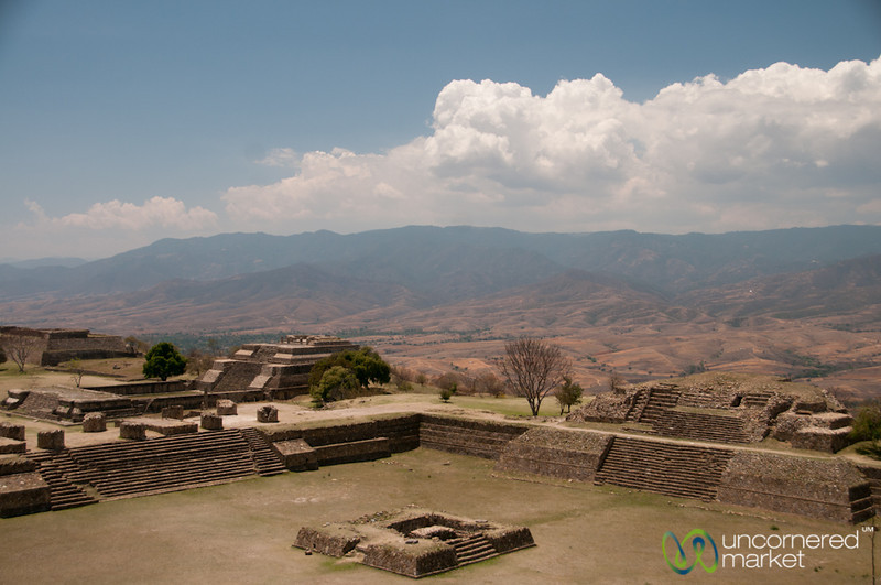 Monte Alban Mountain View - Oaxaca, Mexico