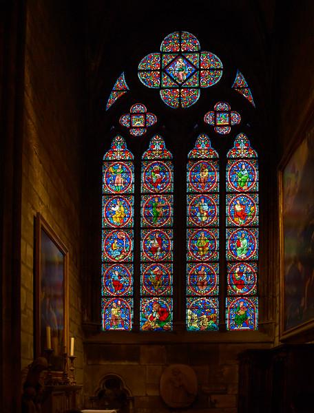 Window in Notre Dame