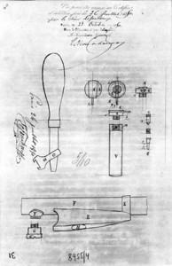 French Patent Office Copy of Casimir Lefaucheux Patent