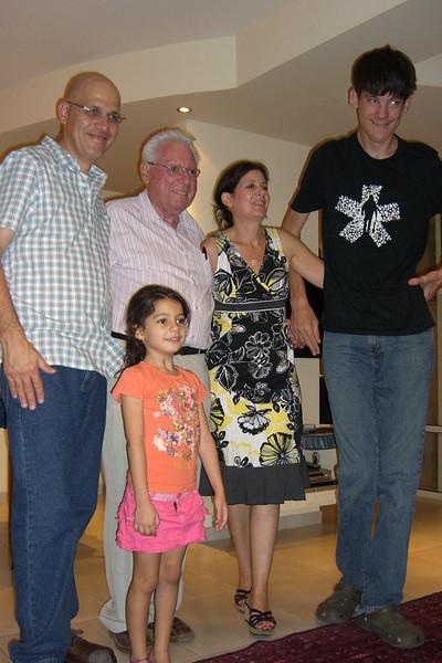 32-Eli, Abba, Nurit, Mattan, Eden at Rosh Ha'ayin, OCT 13