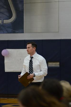 OE Varsity Volleyball Senior Night 2014