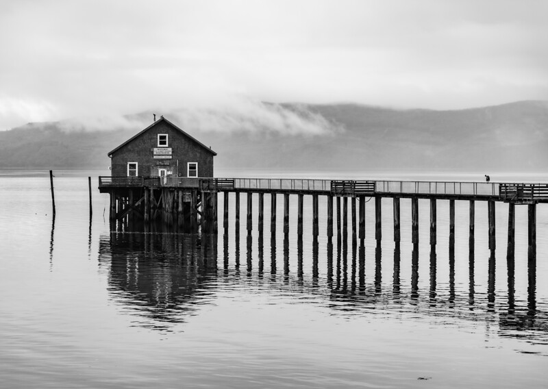 Garibaldi Coast Guard Boat House, Oregon