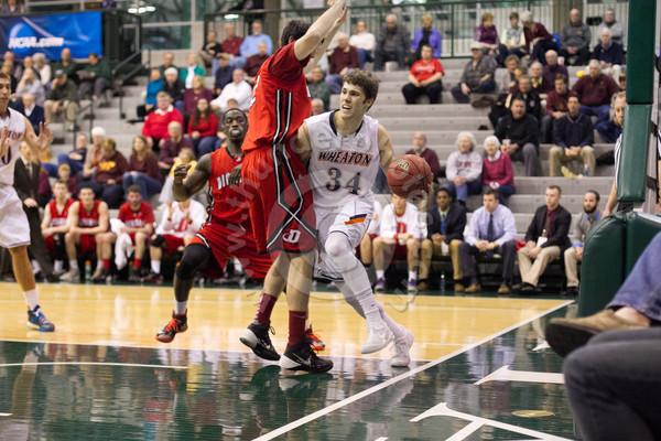 Wheaton College Men's Basketball vs Dickinson College/ NCAA Sectional Semi-Final, Bloomington, Illinois