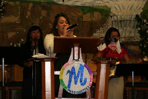 Noche de Girl's Ministry 2009