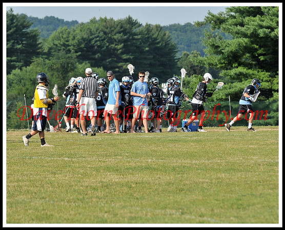 Lacrosse - Trilogy Summer Sizzle NNJ U-15 Black & White  July, 2009