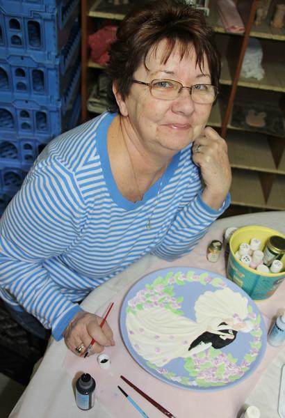 Ceramic Classes, Community Arts Center, Tamaqua (2-21-2013)