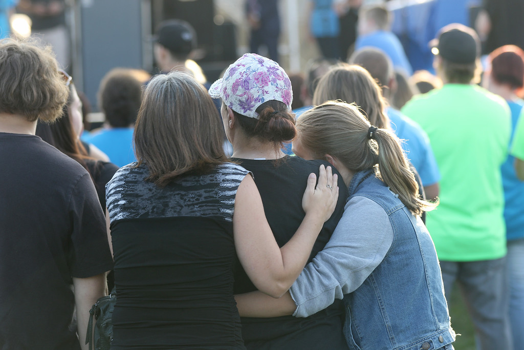 . Jonathan Tressler - The News-Herald. A scene during opening day of the two-day Hope Over Heroin Lake County event Aug. 25 at Lake County Fairgrounds in Painesville Township.