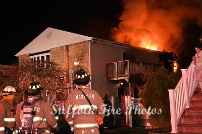 House Fire - Kent Drive, Shirley NY - 04/19/21