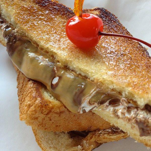 On The Fly Sandwiches & Stuff - Jacksonville - Peanut Butter, Marshmallow Fluff & Nutella sandwich brulee.jpg