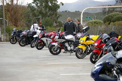 1/25/09 Sport Bike Run