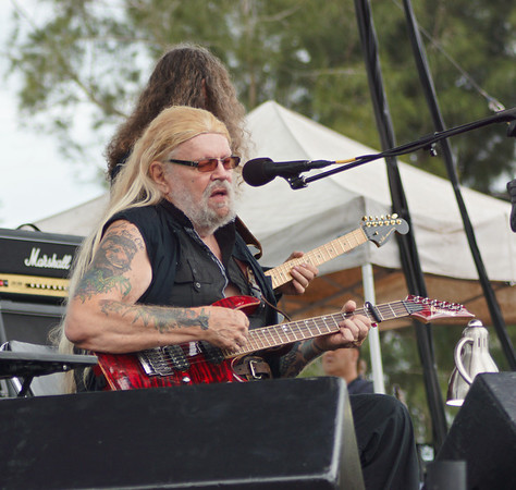 DAVID ALLEN COE CONCERT PHOTOS Born to Ride Festival 2013