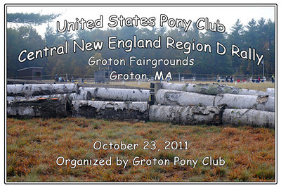United States Pony Club Central New England D Rally, October 23, 2011