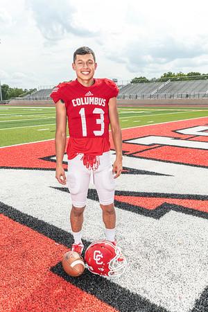 2019 Columbus High School Football Team Pictures