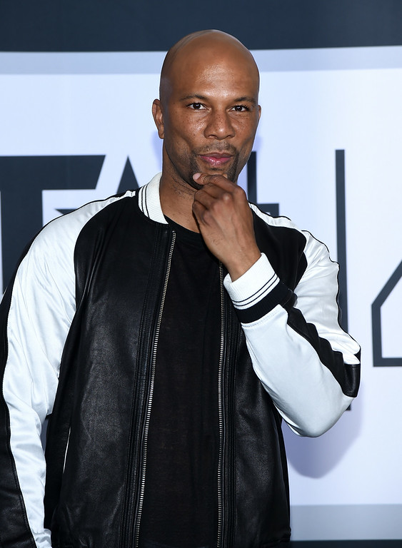 . Actor/rapper Common poses in the press room during the BET AWARDS \'14 at Nokia Theatre L.A. LIVE on June 29, 2014 in Los Angeles, California.  (Photo by Michael Buckner/Getty Images for BET)