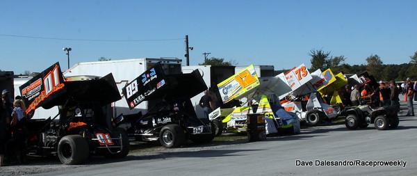 Devils Bowl Speedway Sprint Car Nationals/Dave Dalesandro Photos