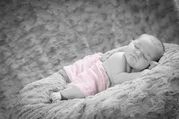 Lena Newborn (B&W)