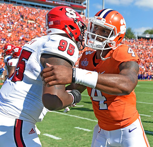 Clemson and NC State October 15, 2016