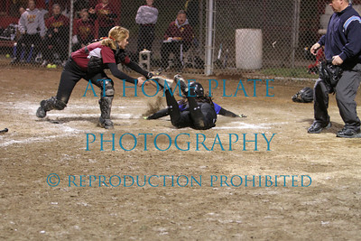 Varsity Softball Tournament the Dalles game 4