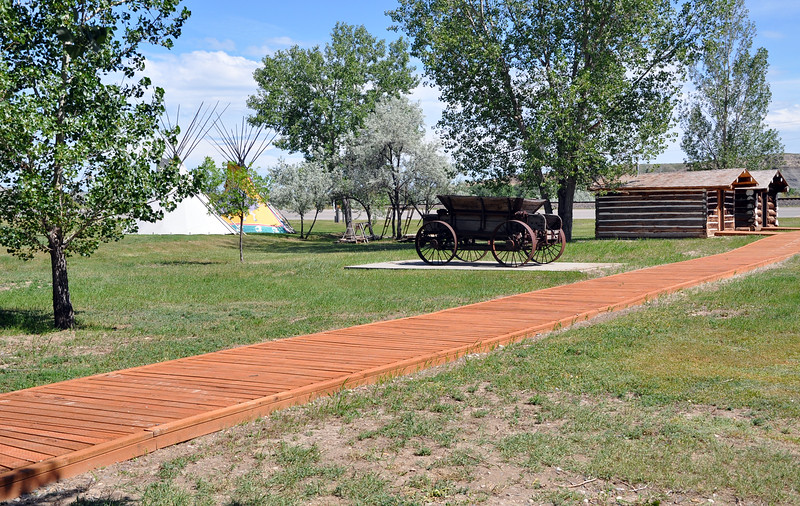 Montana: Big Horn County Historical Museum Trail