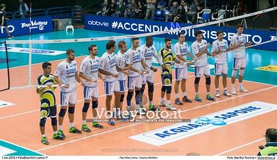 7ª #SuperLega «Top Volley Latina - Exprivia Molfetta»