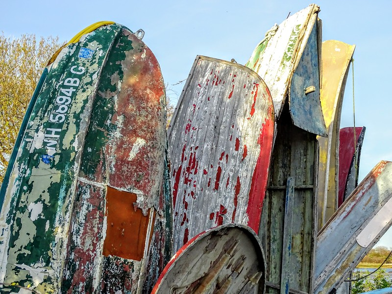 Boat Graveyard, Newport, Rhode Island