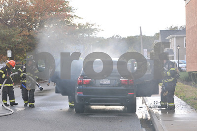 Syosset Car Fire 10-21-2011