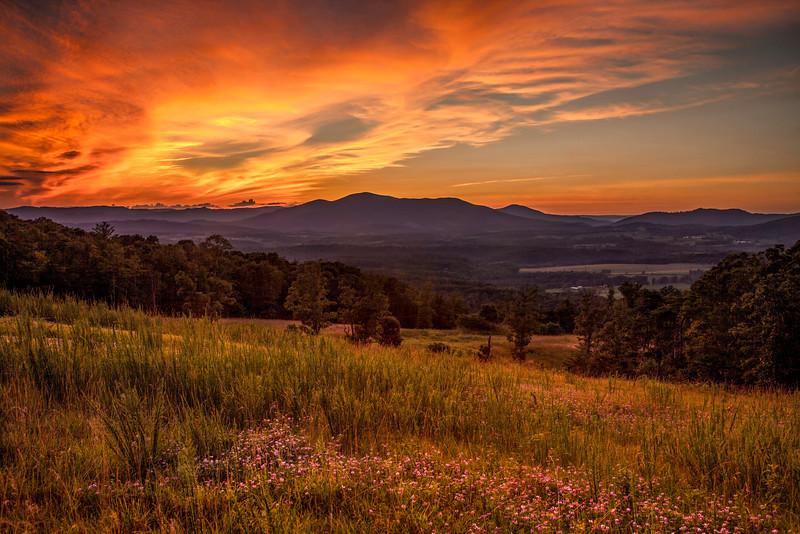 Rocky Mount, Va, sunset