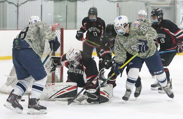 Wilmington vs Watertown hockey 020621