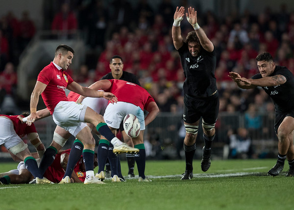Conor Murray during game 7 of the British and Irish Lions 2017 Tour of New Zealand, the first Test match between  The All Blacks and British and Irish Lions, Eden Park, Auckland, Saturday 24th June 2017 (Photo by Kevin Booth Steve Haag Sports)  Images for social media must have consent from Steve Haag