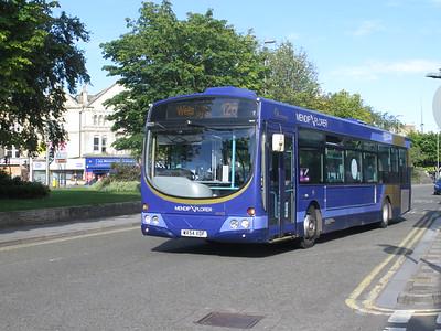 Buses Somerset Devon Cornwall July 2020