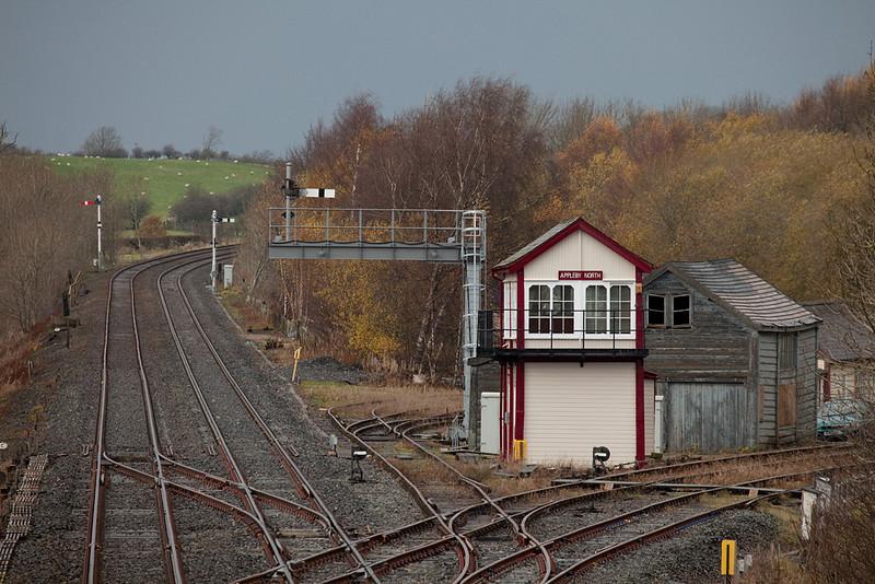 Appleby North signal box.