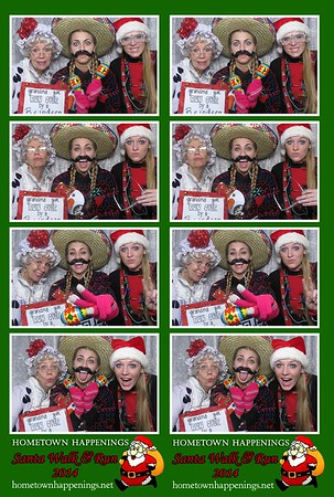 Hometown Happenings - 2014 Santa Walk & Run