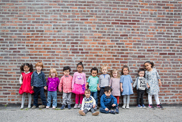 Kensee School Pictures, Downstairs Class 2016