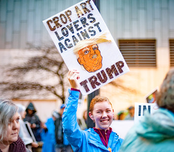 Protesting Trump - MPLS 10.10.19