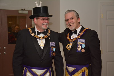RW Paul Craige's Fraternal Visit to Golden Rule Lodge