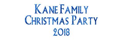 Kane Family Christmas 2018