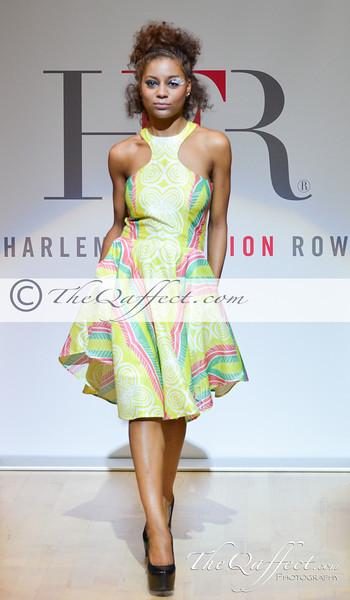 Harlem Fashion Row Spring 2014: Modahnik