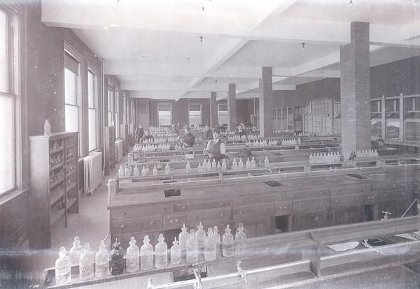 Palmer Hall Chemistry Lab circa 1906