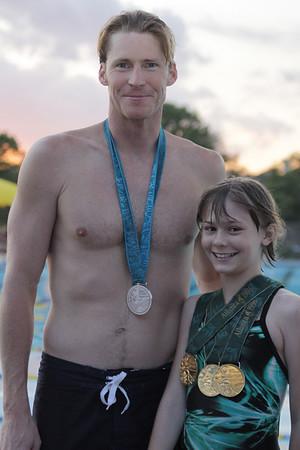 Josh Davis swim clinic